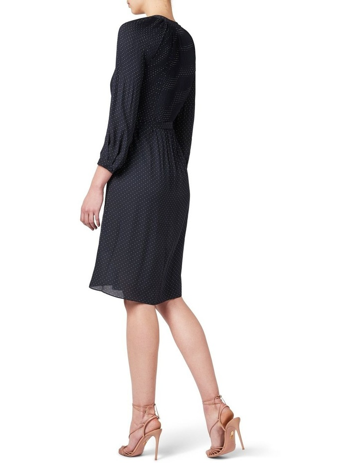 Pleated Spot Dress image 3