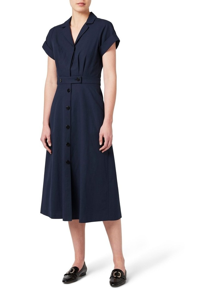 Wrap Shirt Dress image 1
