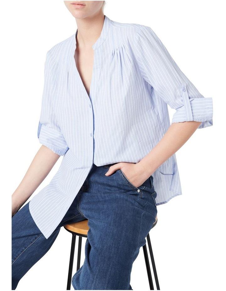 Textured Stripe Blouse image 1