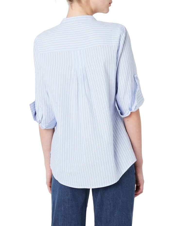 Textured Stripe Blouse image 3