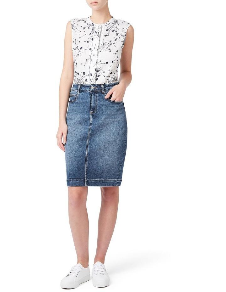 Marnie Denim Skirt image 2