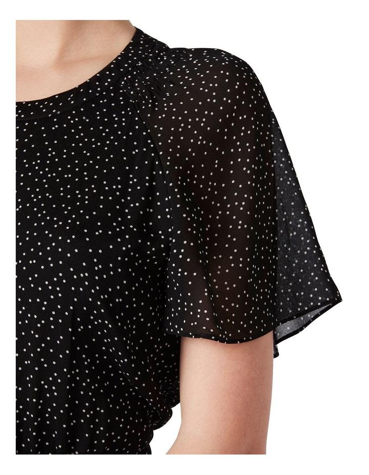 Martina Spot Midi Dress image 4