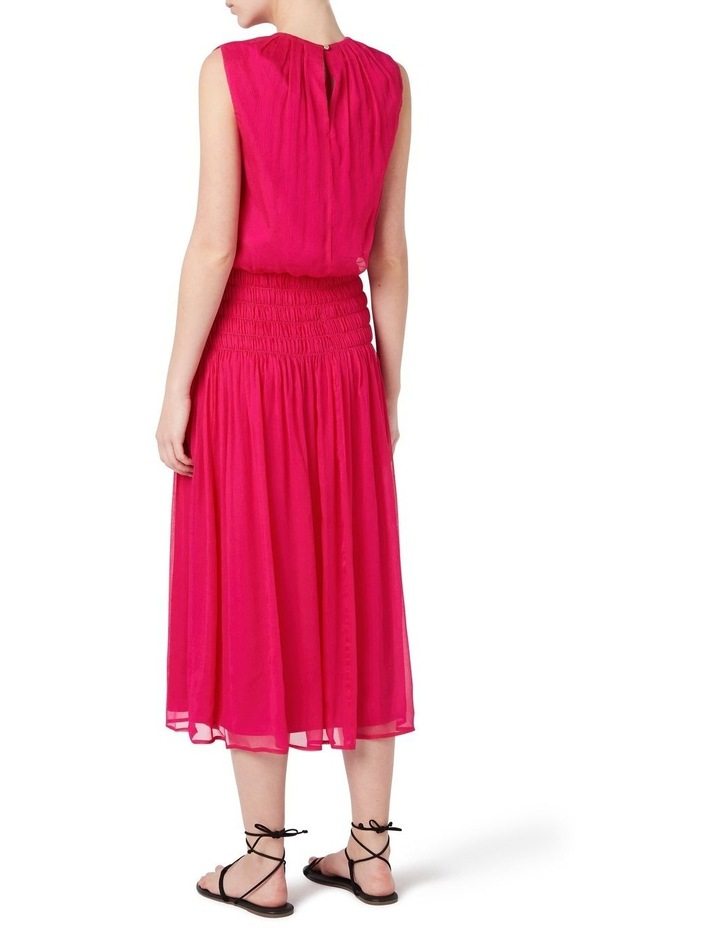 Macie Silk Gathered Dress image 3