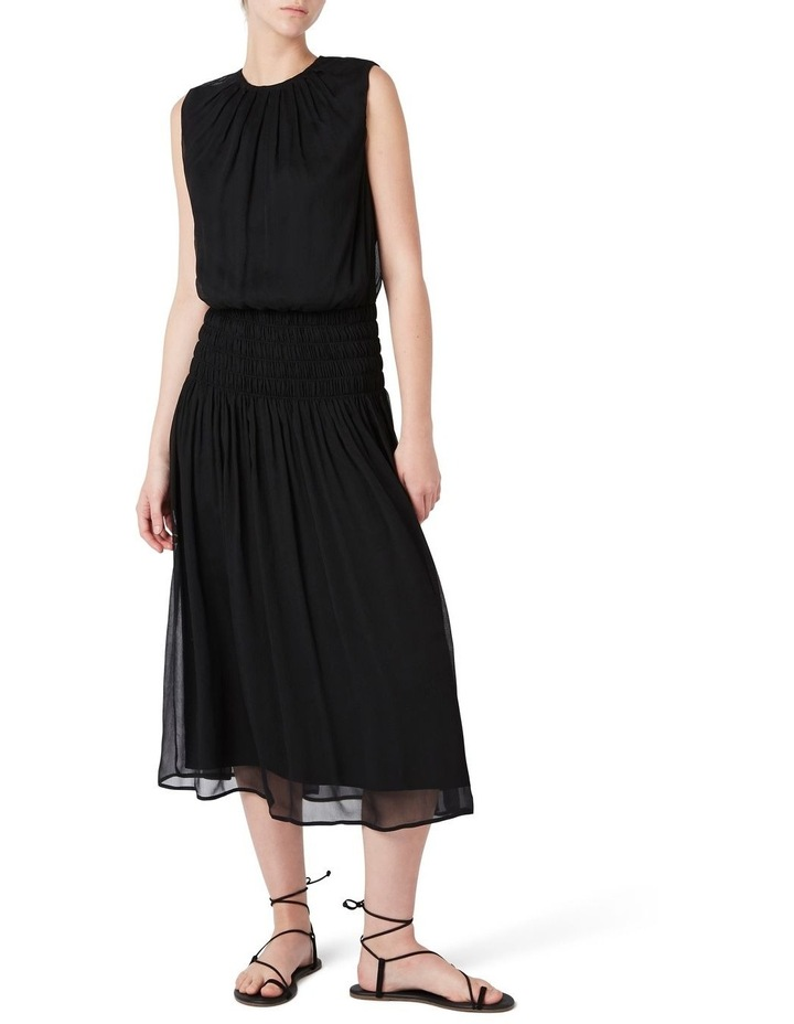 Macie Silk Gathered Dress image 2