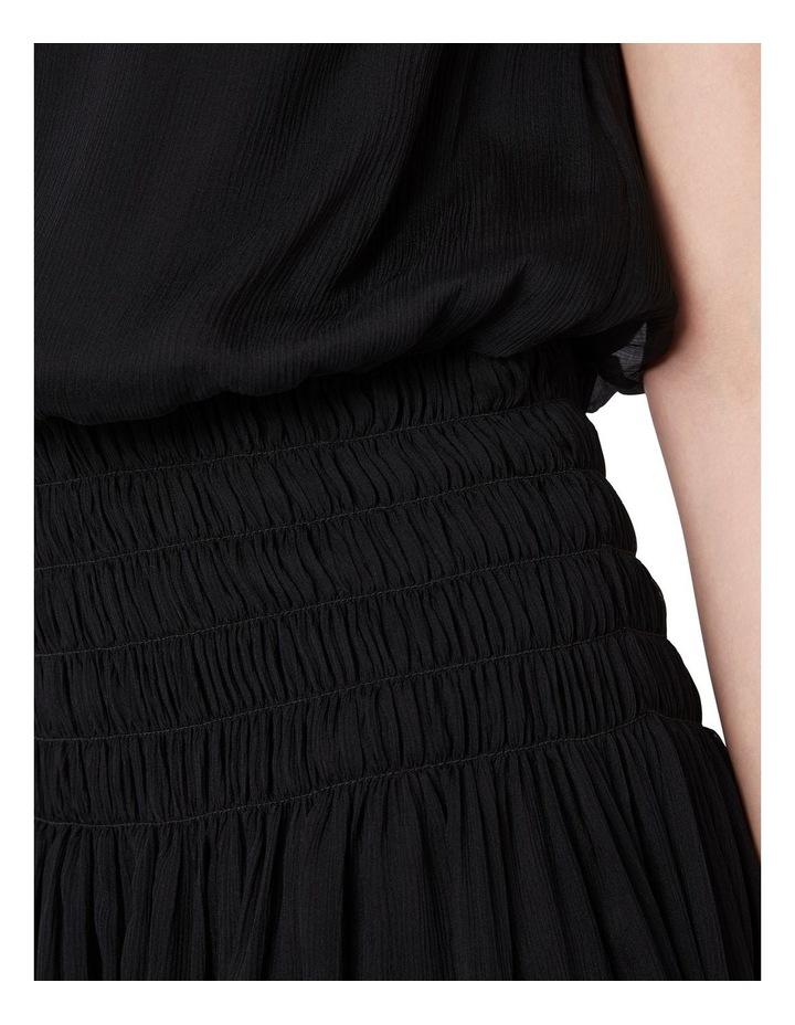 Macie Silk Gathered Dress image 4