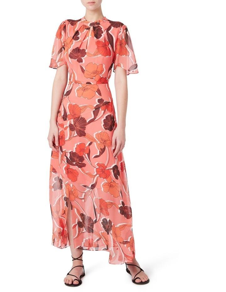 Calliste Silk Midi Dress image 1