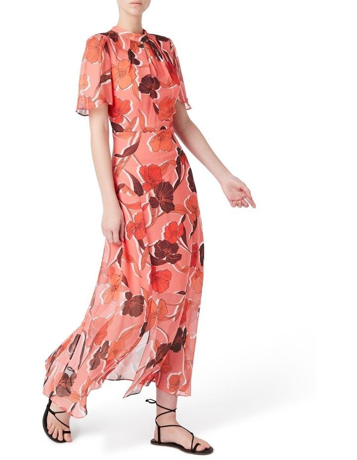 Calliste Silk Midi Dress image 2