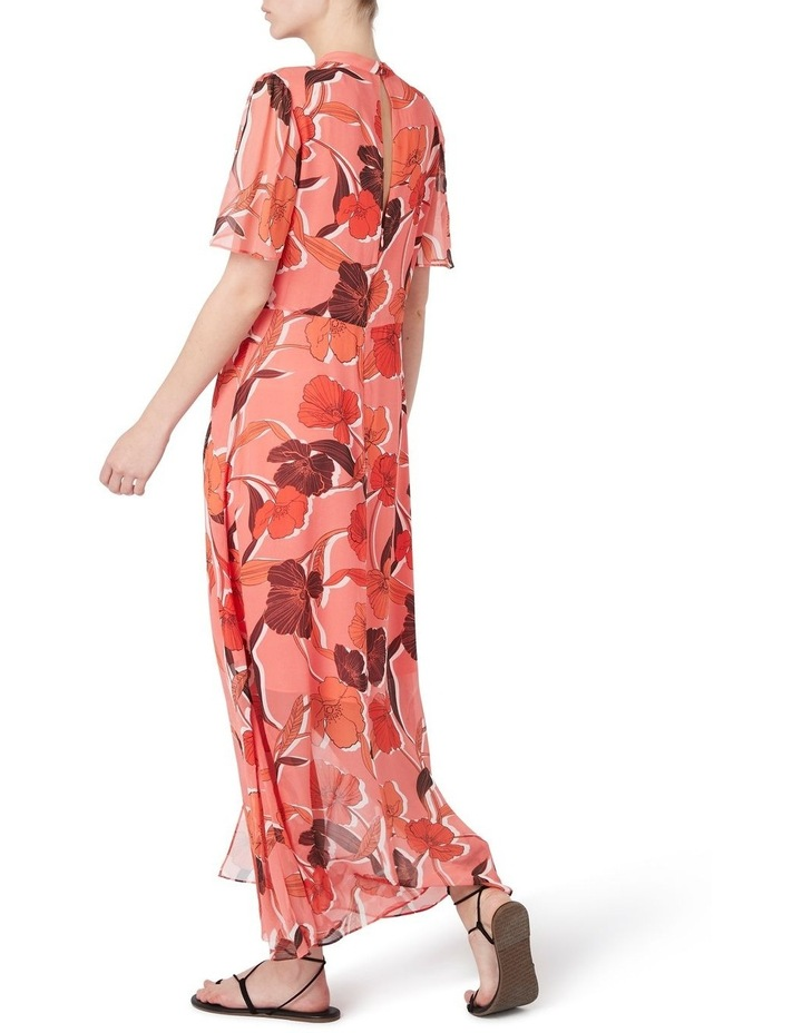 Calliste Silk Midi Dress image 3