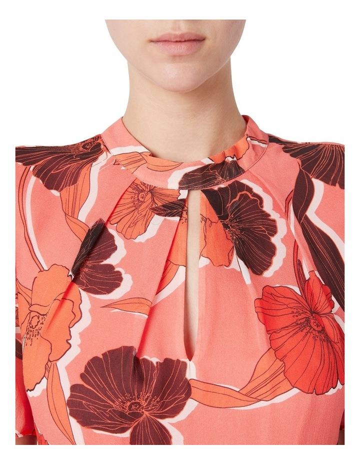 Calliste Silk Midi Dress image 4