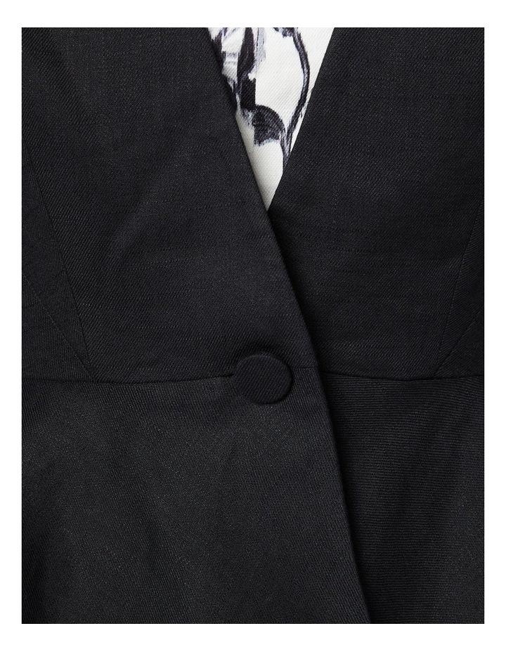 Linen Peplum Jacket image 4