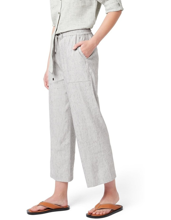 Ingrid Relaxed Linen Pant image 1