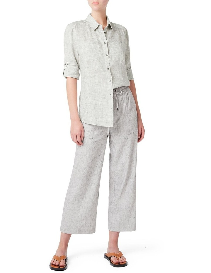 Ingrid Relaxed Linen Pant image 2