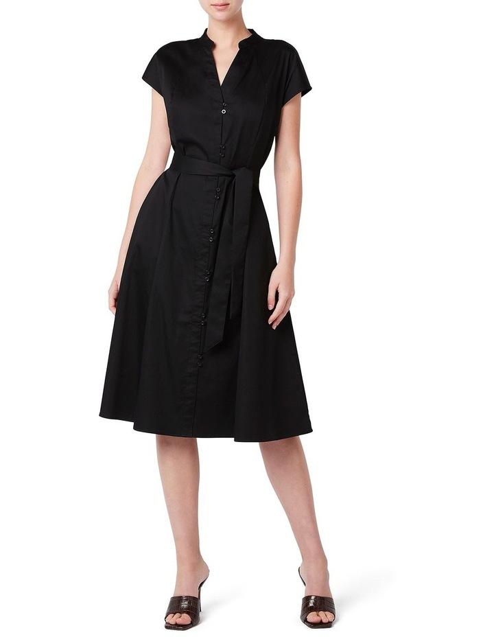 Button Front Cotton Dress image 1