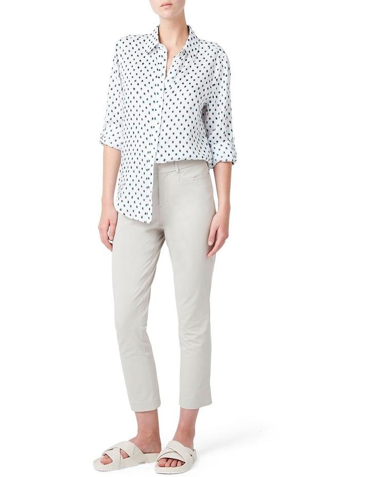 Blur Spot Linen Shirt image 2