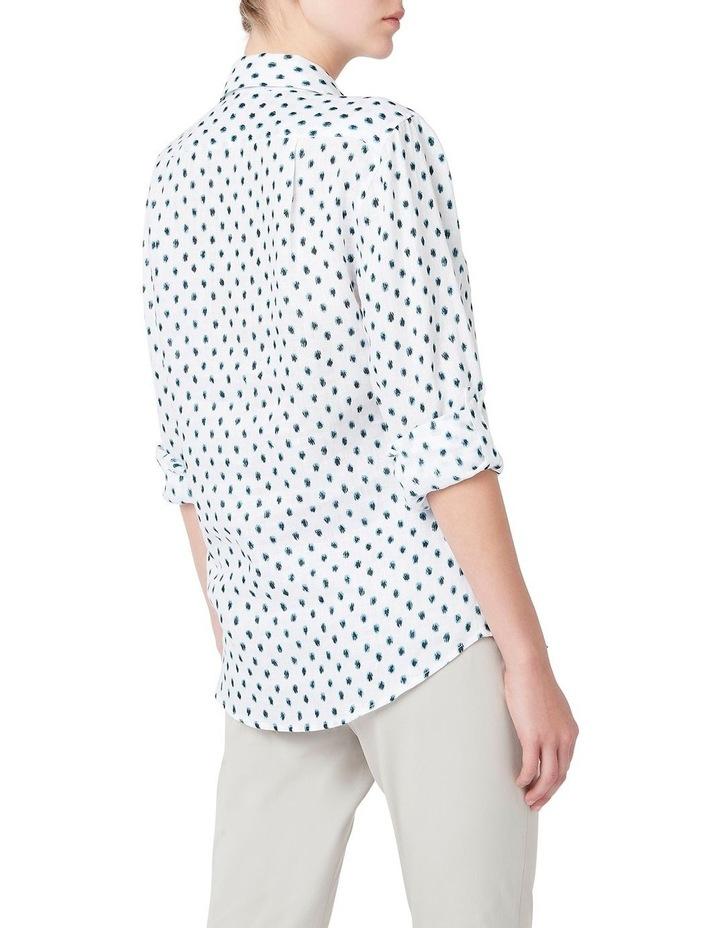 Blur Spot Linen Shirt image 3
