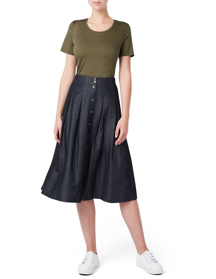 Tessa Tencel Pleated Skirt image 2