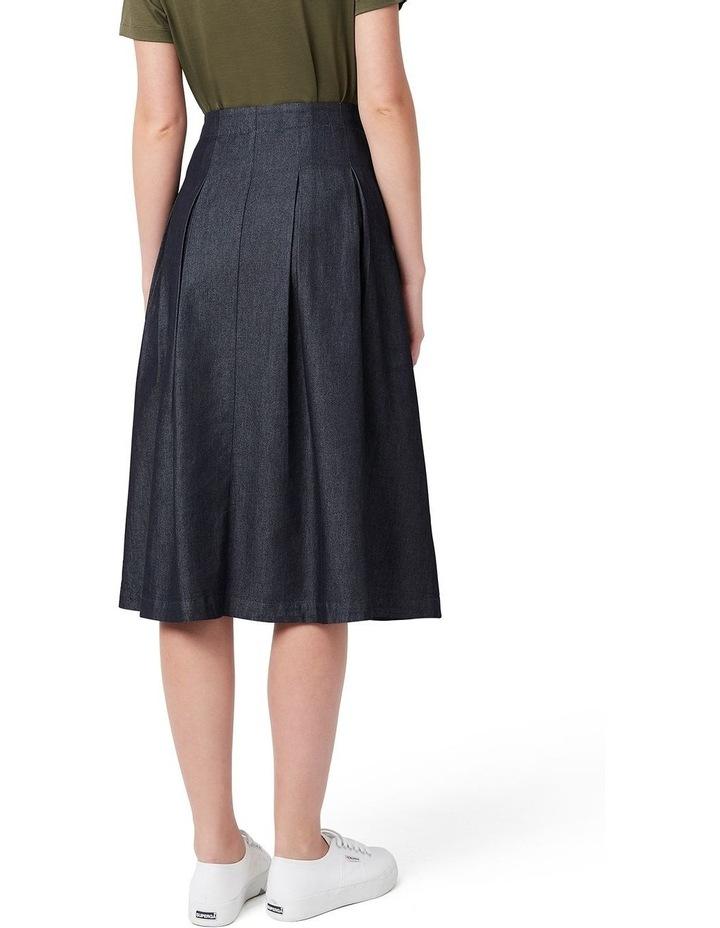 Tessa Tencel Pleated Skirt image 3