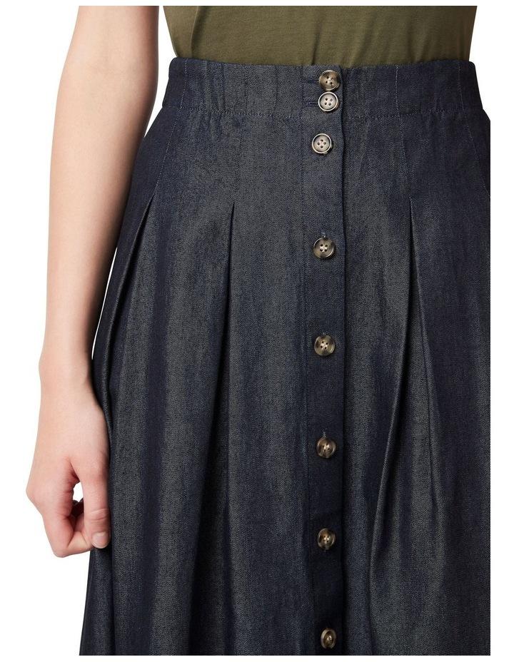 Tessa Tencel Pleated Skirt image 4