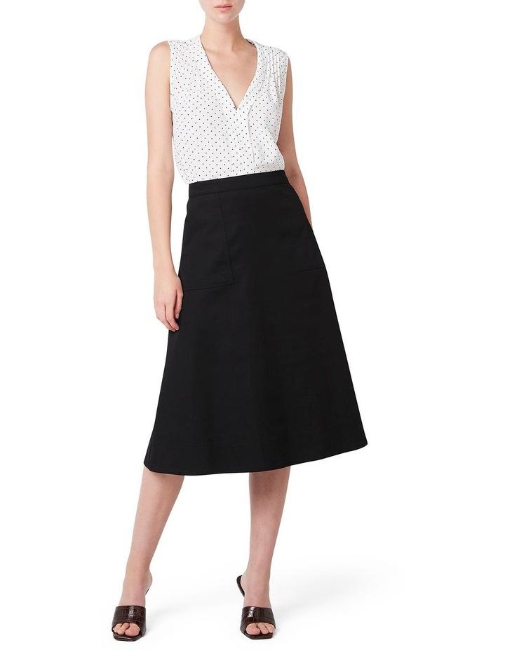 Cotton Midi Skirt image 2
