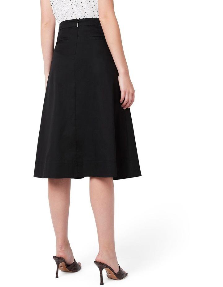 Cotton Midi Skirt image 3