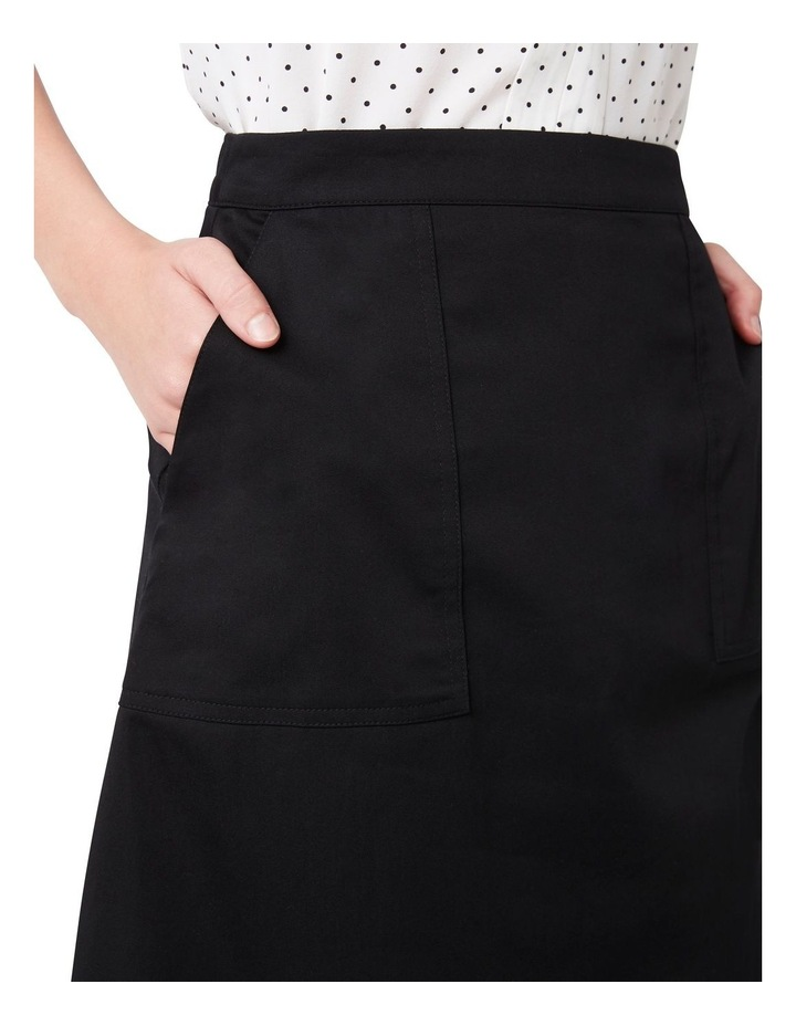 Cotton Midi Skirt image 4