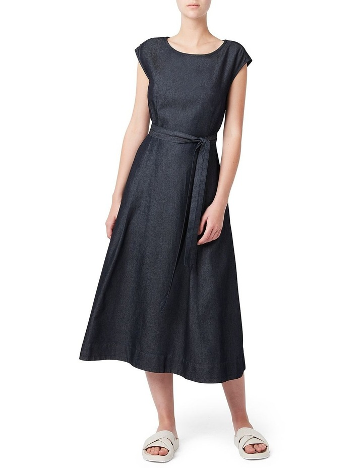 Tessa Tencel Midi Dress image 1