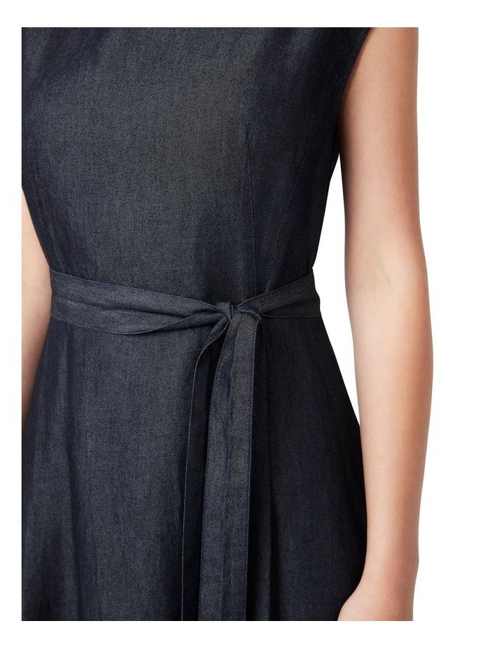 Tessa Tencel Midi Dress image 4