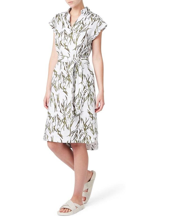 Mara Printed Linen Dress image 2