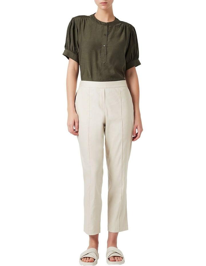 Tapered Linen Pant image 2