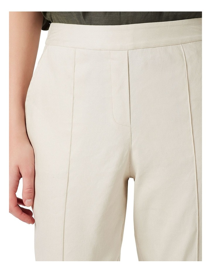 Tapered Linen Pant image 4