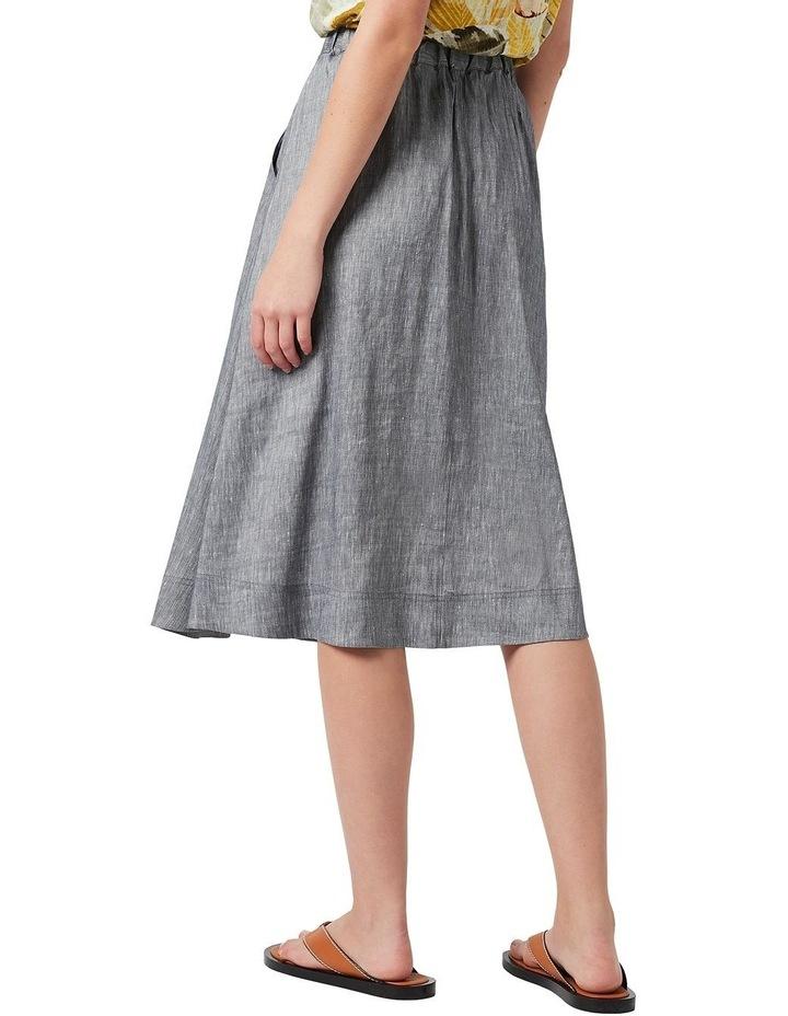Spencer Linen Wrap Skirt image 3