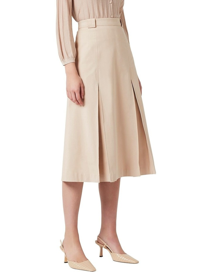 Topstitch Detail Skirt image 1