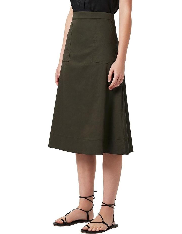 Cotton Midi Skirt image 1