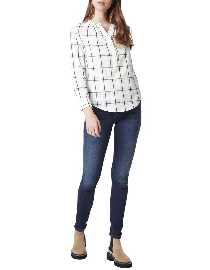 Anthea Check Blouse image 2