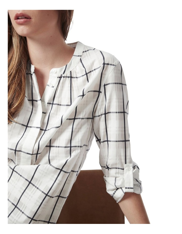Anthea Check Blouse image 4