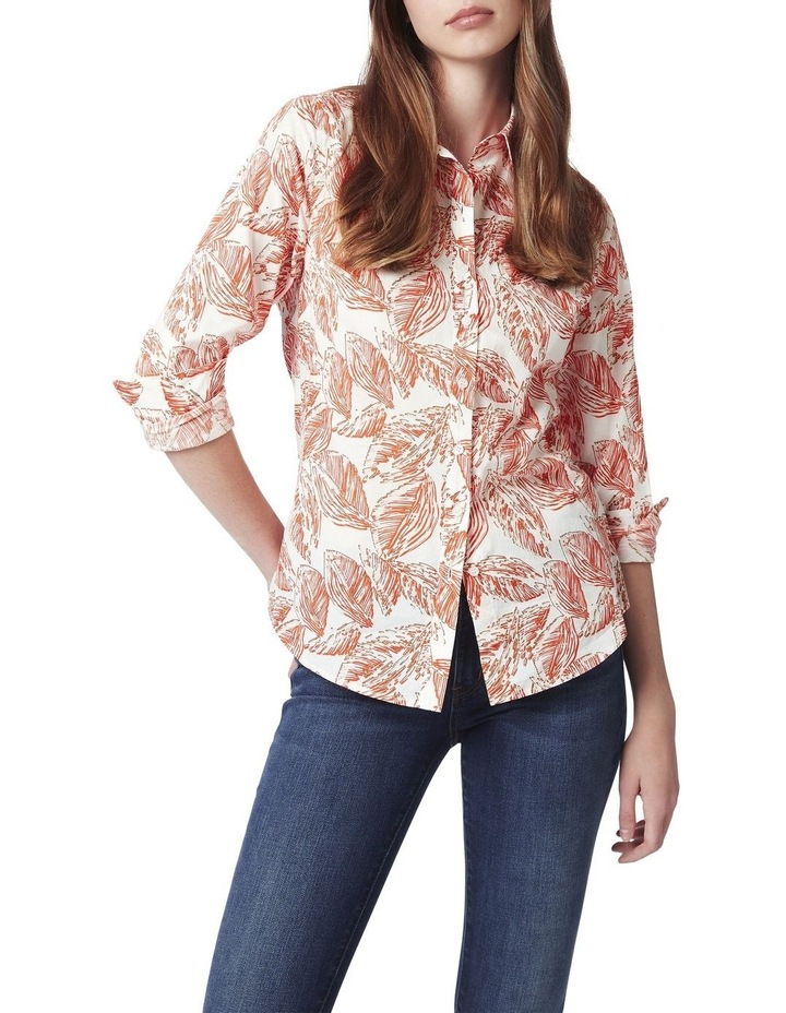 Mela Printed Voile Shirt image 1