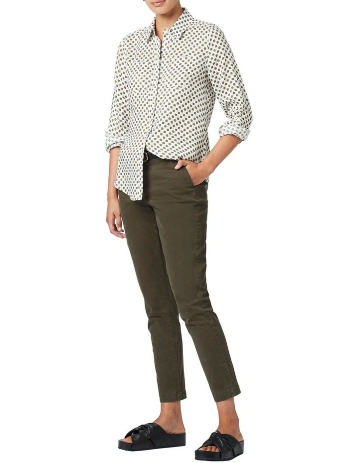 Frances Printed Linen Shirt image 1