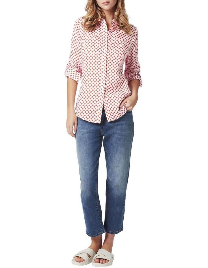Frances Printed Linen Shirt image 2
