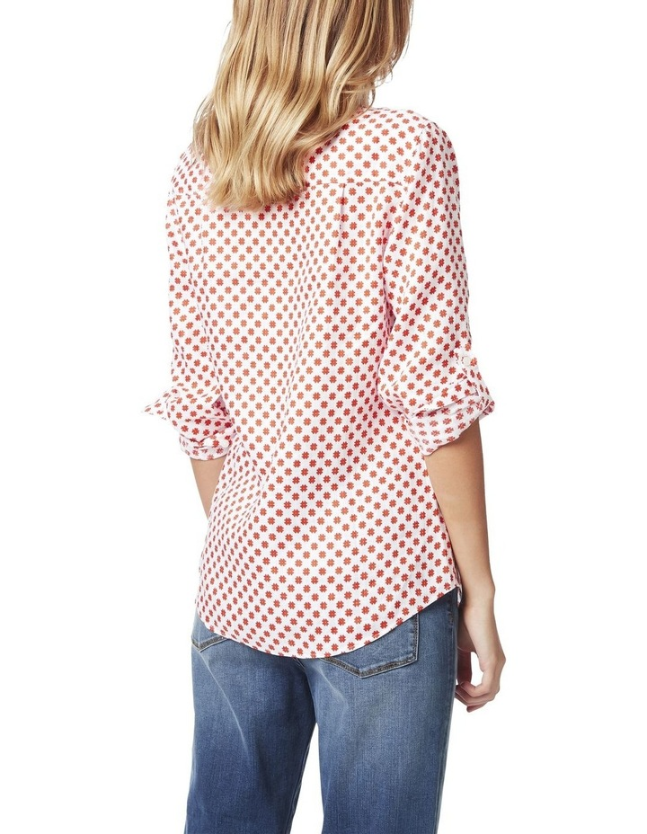 Frances Printed Linen Shirt image 3