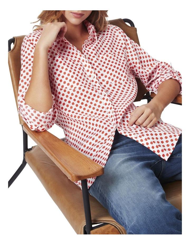 Frances Printed Linen Shirt image 5