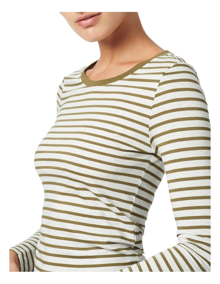 Michela Stripe Long Sleeve Tee image 4
