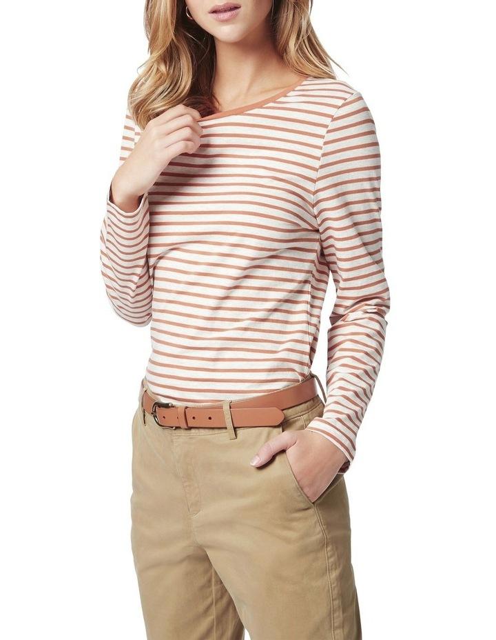 Michela Stripe Long Sleeve Tee image 1
