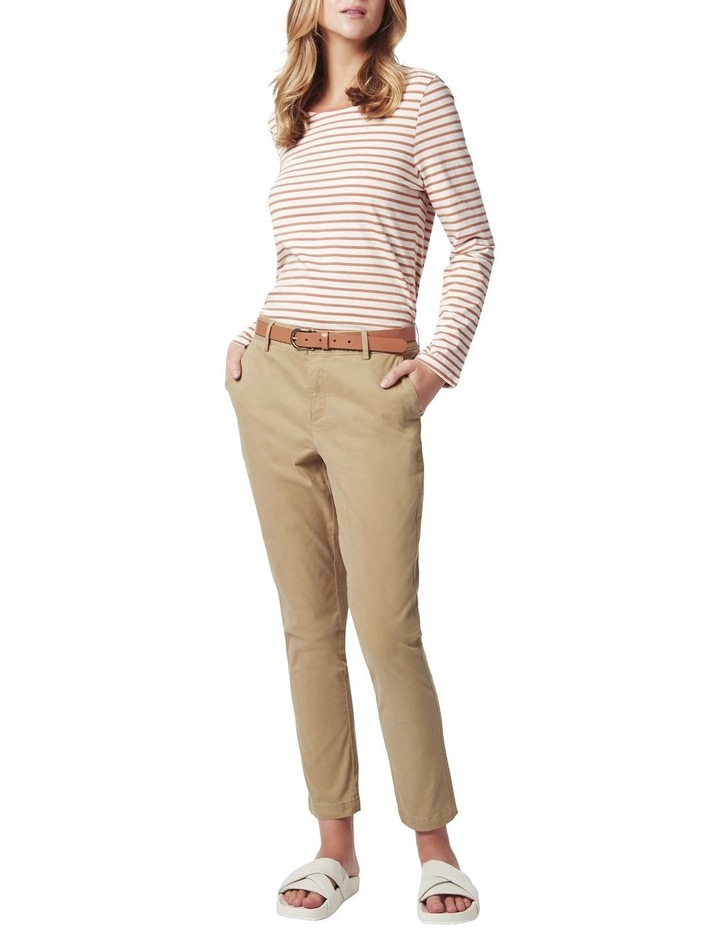 Michela Stripe Long Sleeve Tee image 2