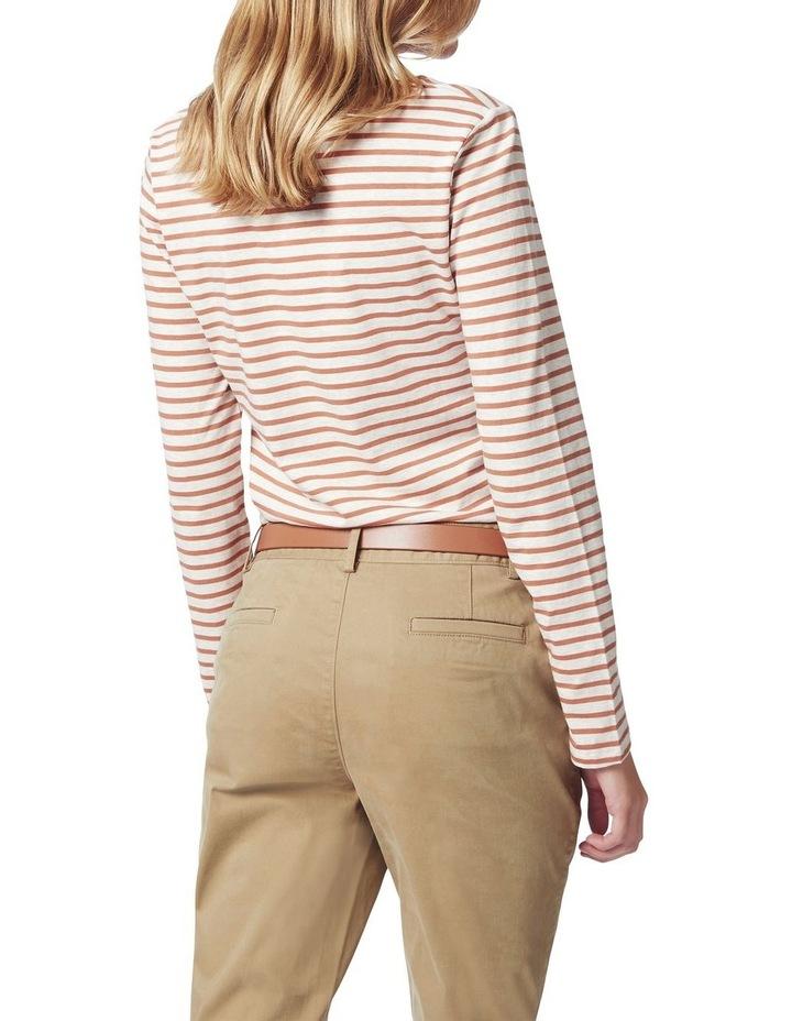 Michela Stripe Long Sleeve Tee image 3