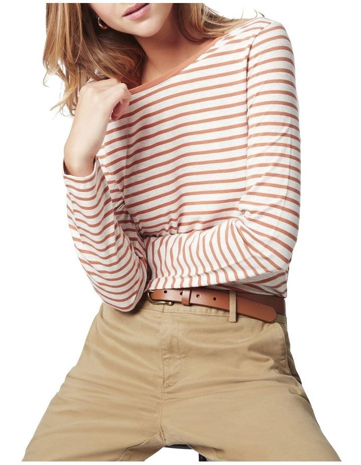 Michela Stripe Long Sleeve Tee image 5