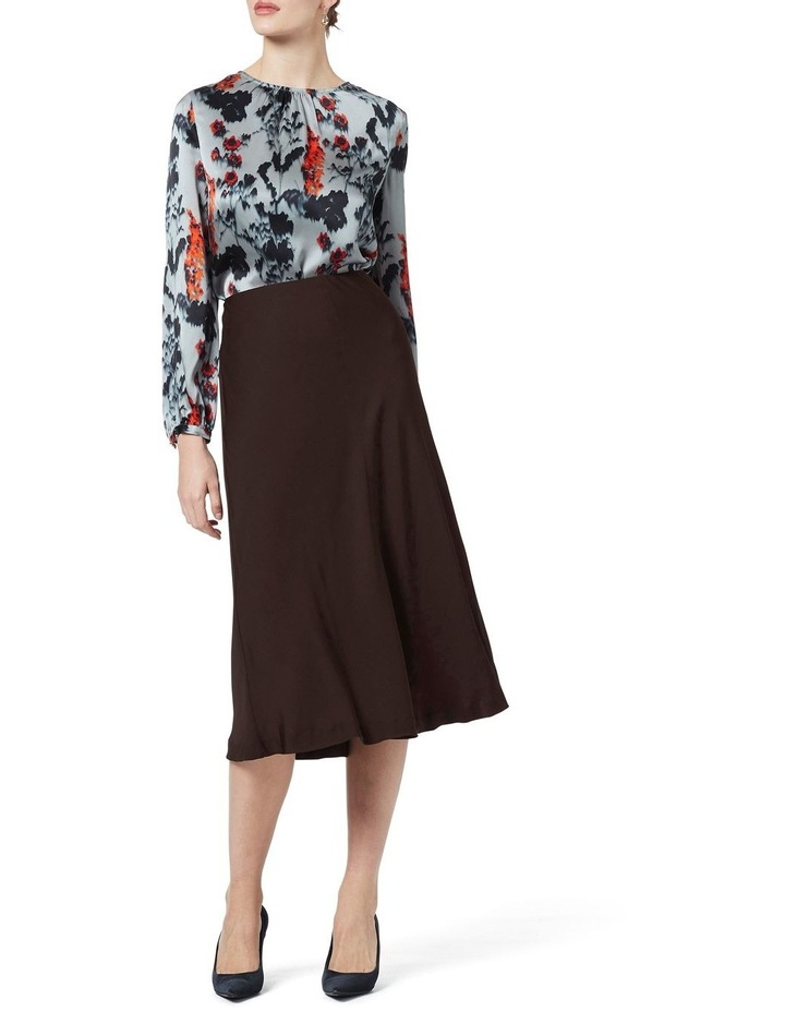 Crepe Midi Skirt image 1