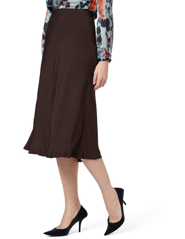 Crepe Midi Skirt image 2