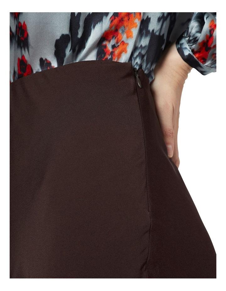 Crepe Midi Skirt image 4