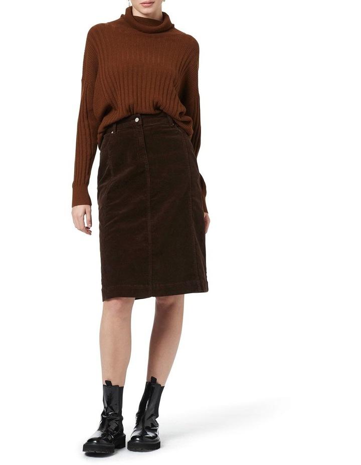 Celine 5 Pocket Cord Skirt image 1