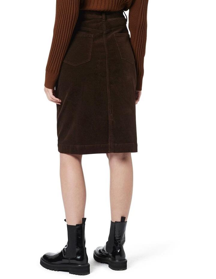 Celine 5 Pocket Cord Skirt image 3